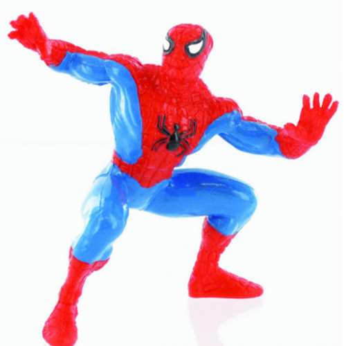 Yolanda 96013 Spiderman stehend 9 cm Serie Superhelden Marvel