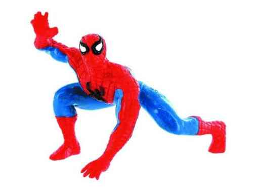 Yolanda 96014 Spiderman knieend 7 cm Serie Superhelden Marvel