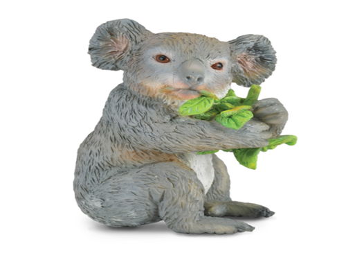 Collecta 88357 koala bear eating 6 cm Wild Animals