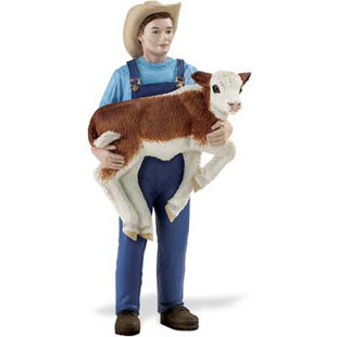 Safari Ltd 820029 Rancher Mike 10 cm Serie Menschen