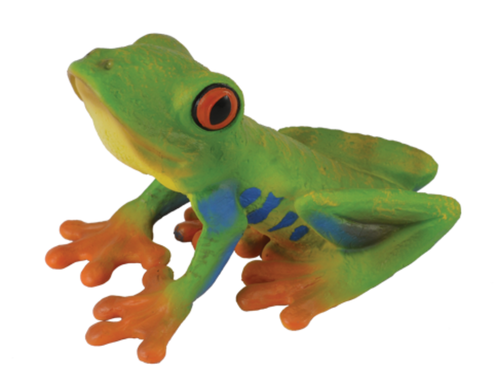 Collecta 88386 Rotaugenfrosch 5 cm Wildtiere