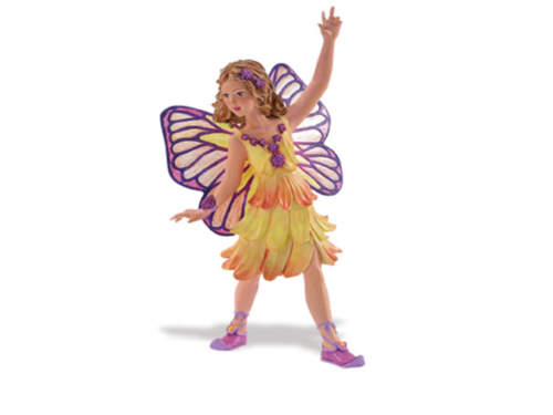 Safari Ltd 875329 Elfenkind Butterblume 10 cm Serie Mythologie