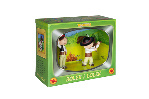 Tissotoys 47051 Lolek and Bolek Giftbox in the mountains