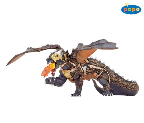 Papo 38958 dragon of darkness 22 cm Fantasy