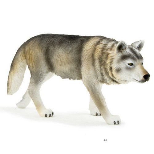 Mojo 387026A wolf (walking) 10 cm Wild Animals (old model)