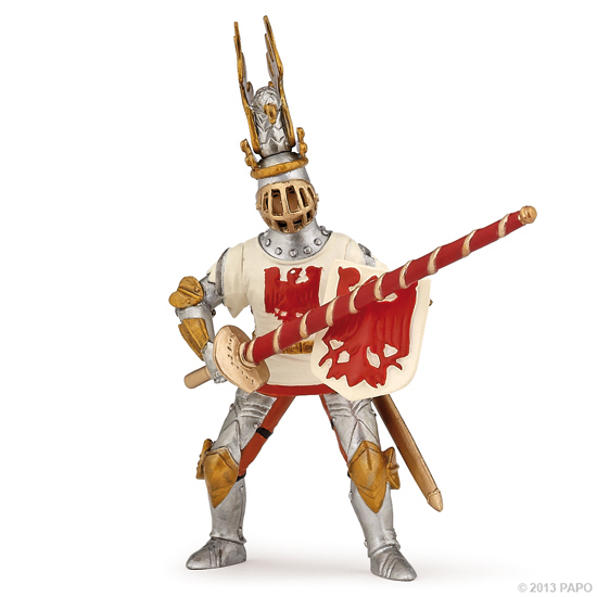 Papo 39333 Knight Perceval 10 cm Knight and Castle