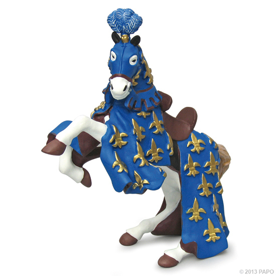 Papo 39258 prince Philip´s horse (blue) Knight and Castle