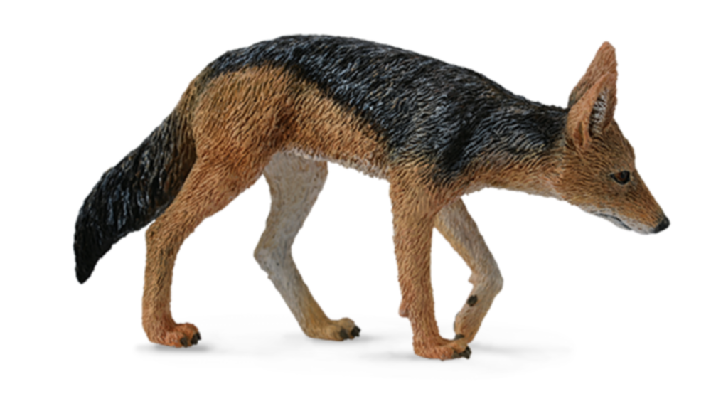 Collecta 88665 Schabrackenschakal Windhund 7 cm Wildtiere