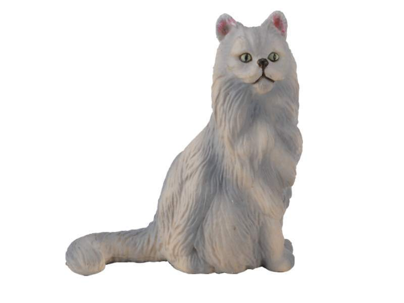 Collecta 88329 persian cat sitting 4,5 cm Dogs and Cats