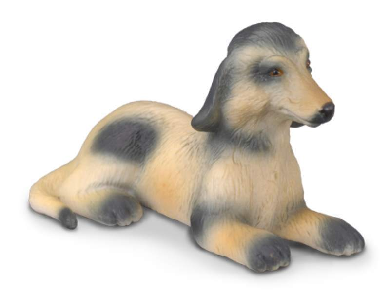 Collecta 88174 afghan hound puppy 5 cm Dogs and Cats
