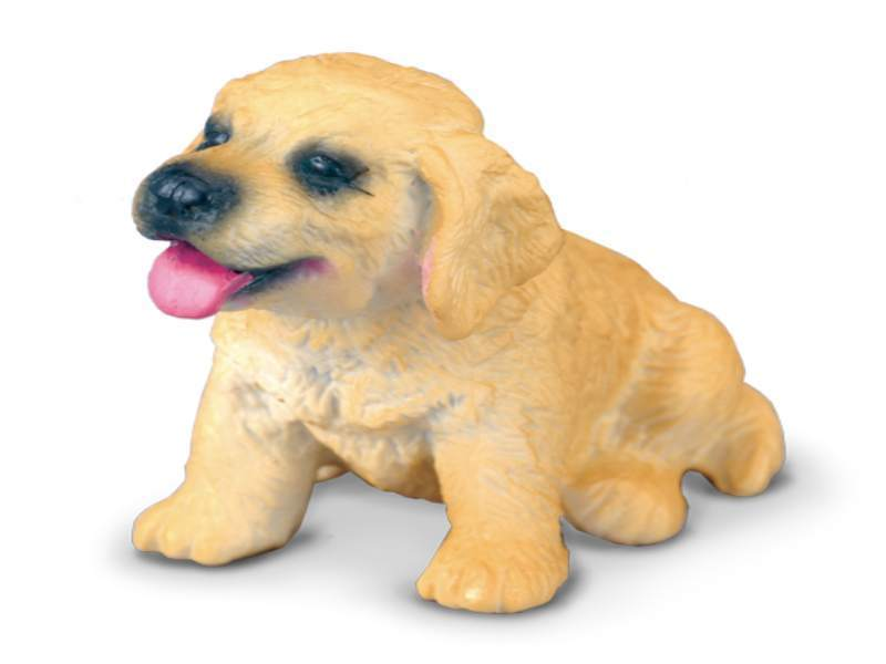 Collecta 88117 golden retriever puppy 4,5 cm Dogs and Cats