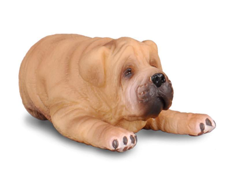 Collecta 88194 shar pei puppy 4,5 cm Dogs and Cats