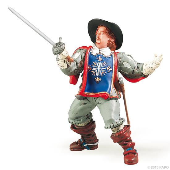 Papo 39901 Porthos musketeer 9 cm History