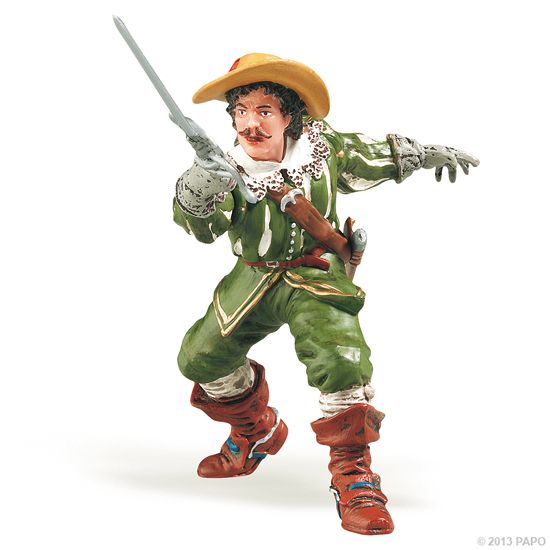 Papo 39904 D´Artagnan musketeer 9 cm History