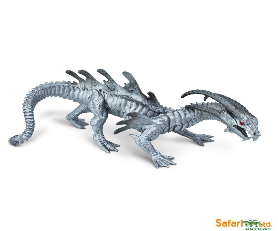 Safari Ltd 10126 Chromdrache 23 cm Serie Mythologie