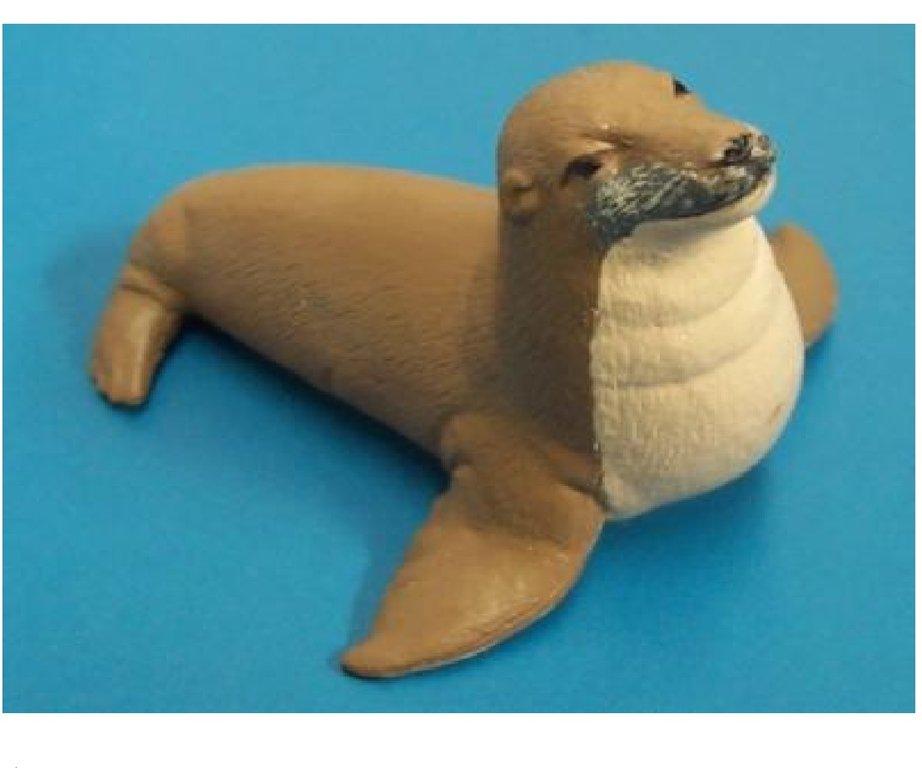 NEW Science /& Nature 75389 Australian Sea Lion Model Animal Toy Seal Replica