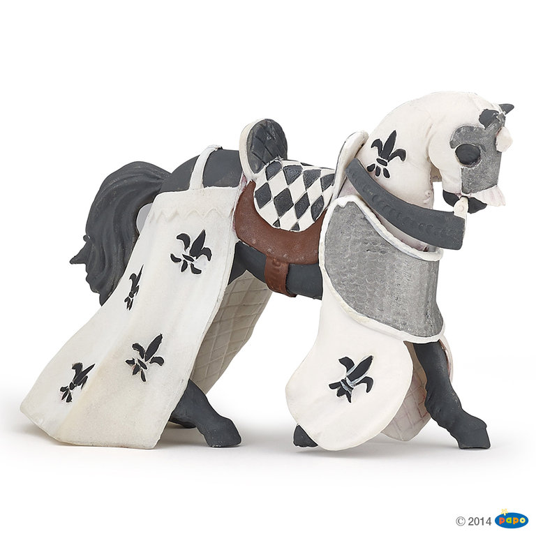 Papo 39786 Horse of Paladin 13 cm Knight and Castle