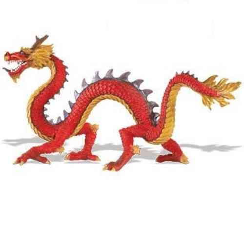 Safari Ltd 10135 Chinesischer Drache 20 cm Serie Mythologie