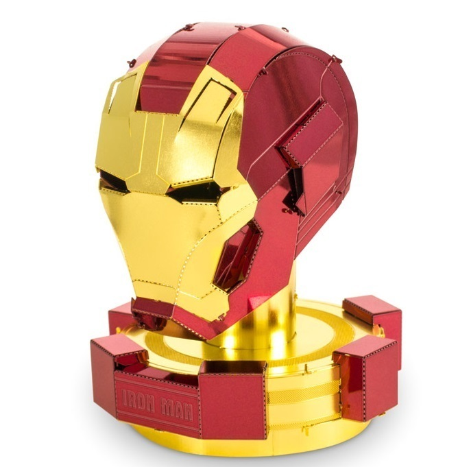 Metal Earth 3324 Helmet Helmet Iron Man Marvel Avenger 3D metal kit
