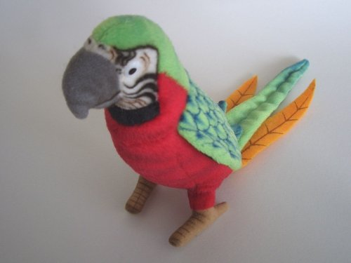 Hansa Toy 3326 parrot (red/green) 16 cm soft-toy