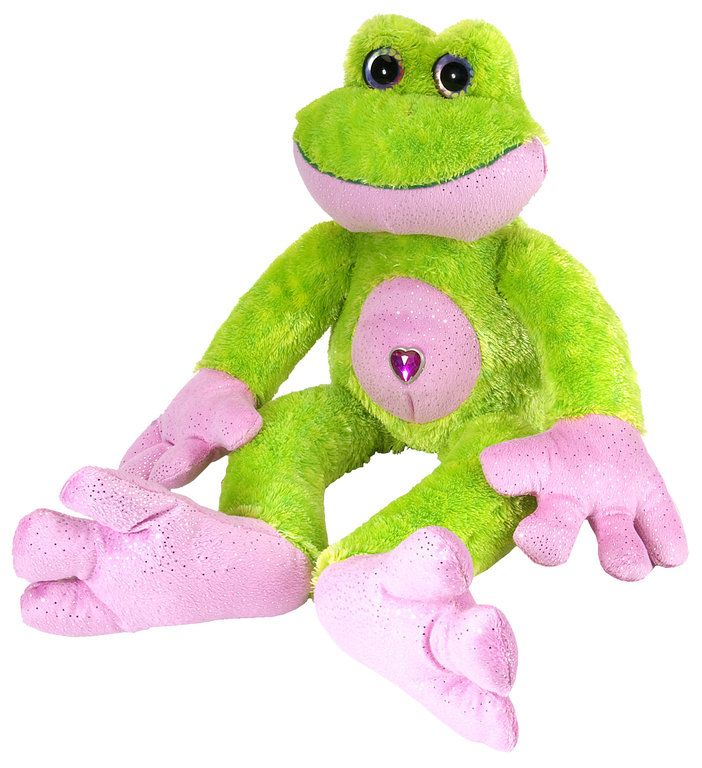 Wild Republic 12403 frog (green) 30 cm Sweet + Sassy Soft-toy