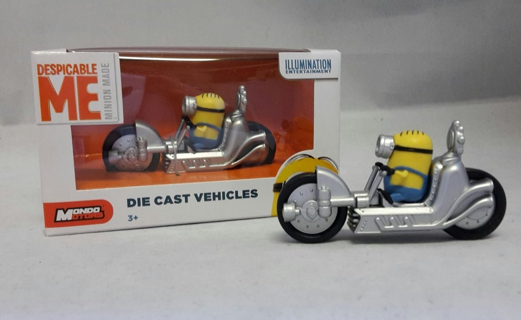 Stuart auf Dragster 8 cm Nr. 02 Minions Die Cast Vehicles