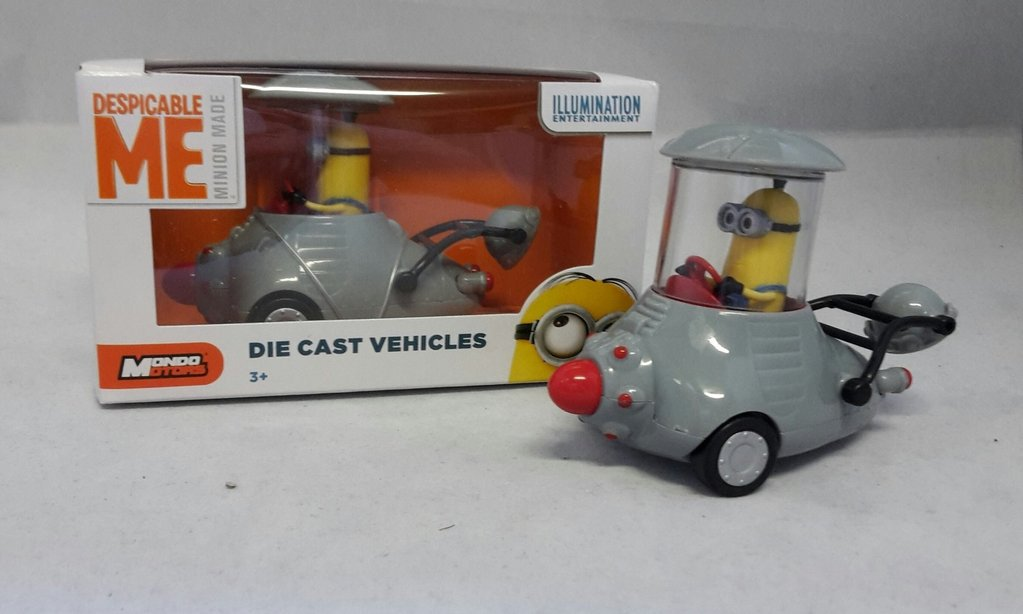 Tim im Minion Mobil 8,5 cm Nr. 04 Minions Die Cast Vehicles