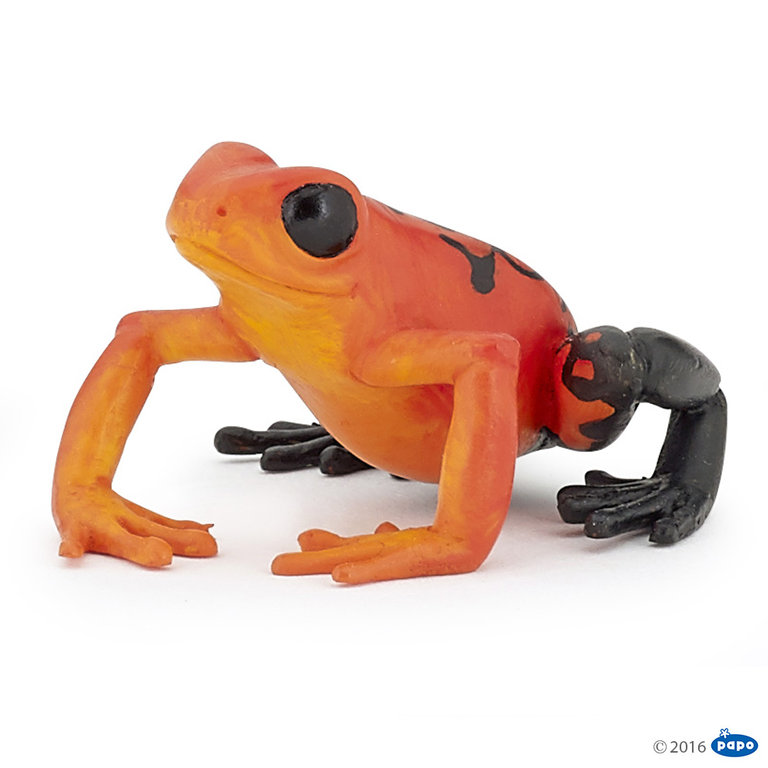 Papo 50193 Roter Äquatorial Frosch 5 cm Wildtiere