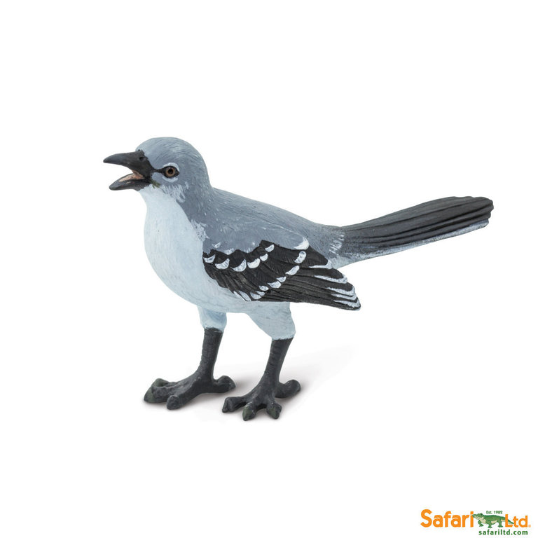 Safari Ltd 150329 Mockingbird 7 cm Series Wings of the Earth