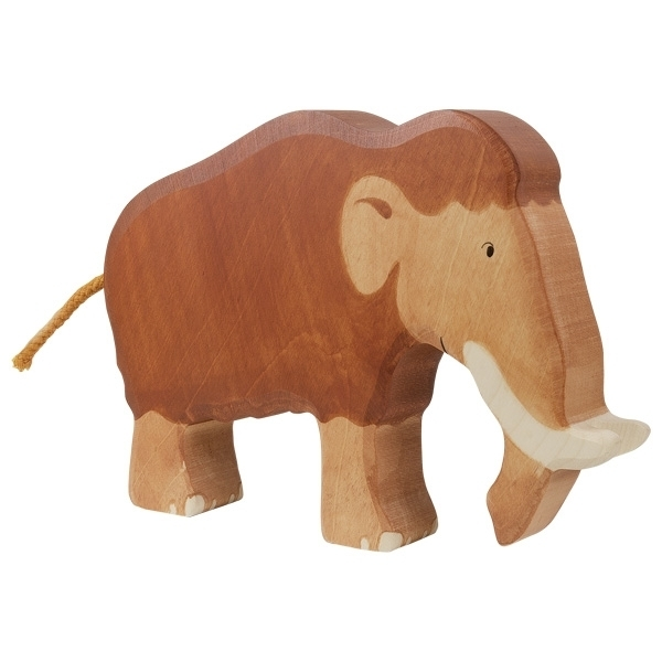 Holztiger 80571 mammoth 19 cm Wood Figure Series Dinosaur