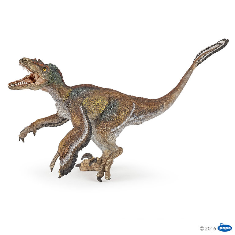 Papo 55055 Velociraptor (with feather) 18 cm Dinosaur