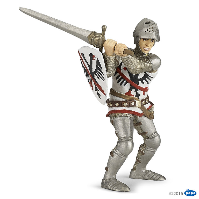 Papo 39794 Knight Du Guesclin 10 cm Knight and Castle