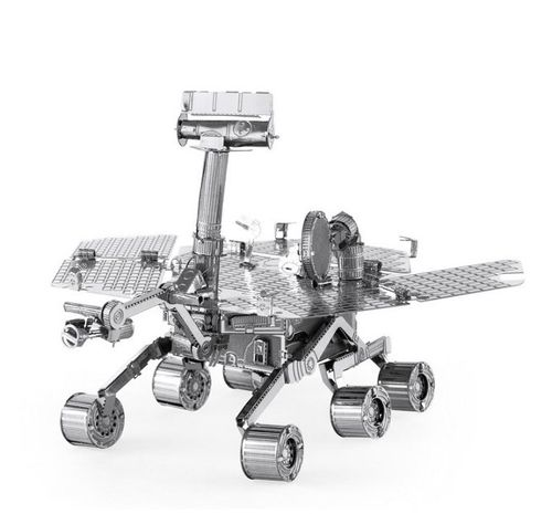 Metal Earth 1077 Mars Rover 3D-Metall-Bausatz Silver-Edition