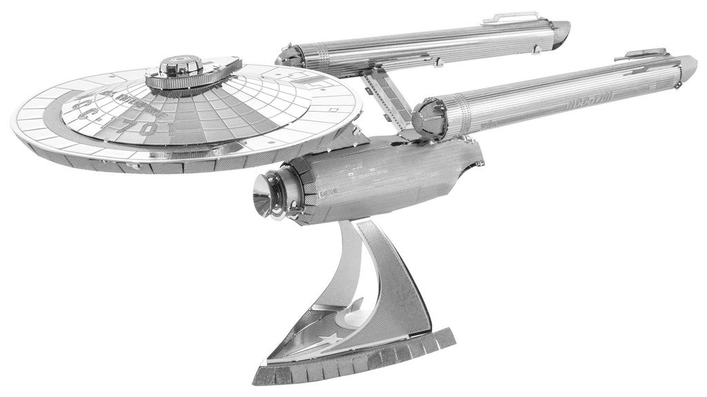 Metal Earth 1280 USS Enterprise NCC-1701 Star Trek 3D-Metall-Bausatz