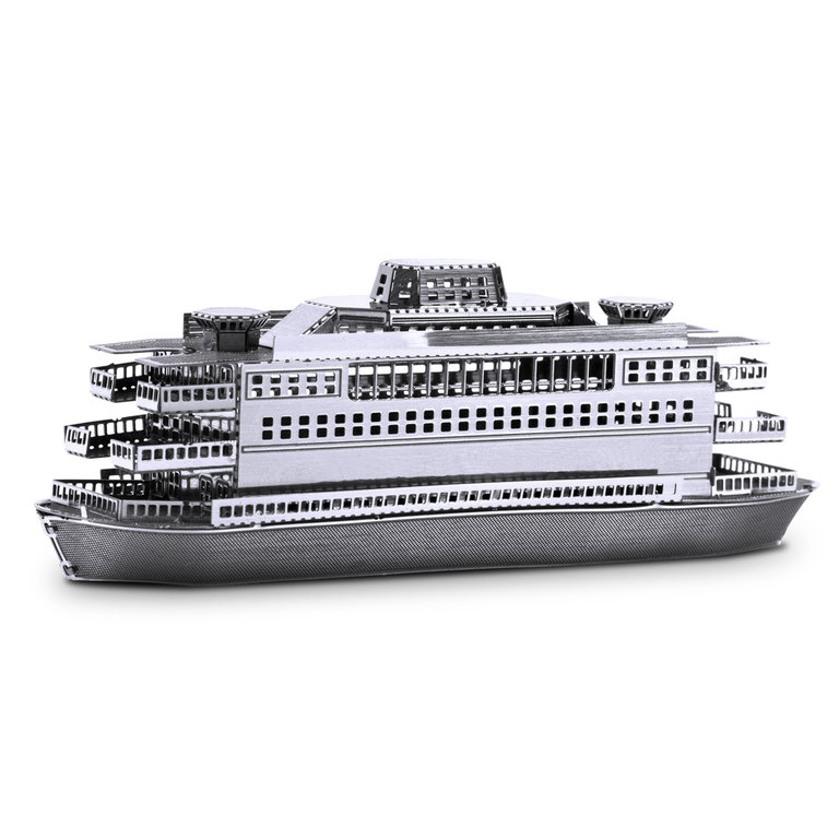 Metal Earth 1068 ferry 3D-Metall-Construction Silver-Edition