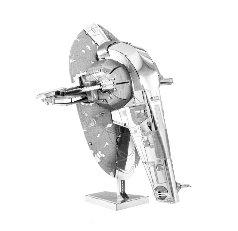 Metal Earth 1260 Slave I Star Wars 3D-Metall-Bausatz Silver-Edition