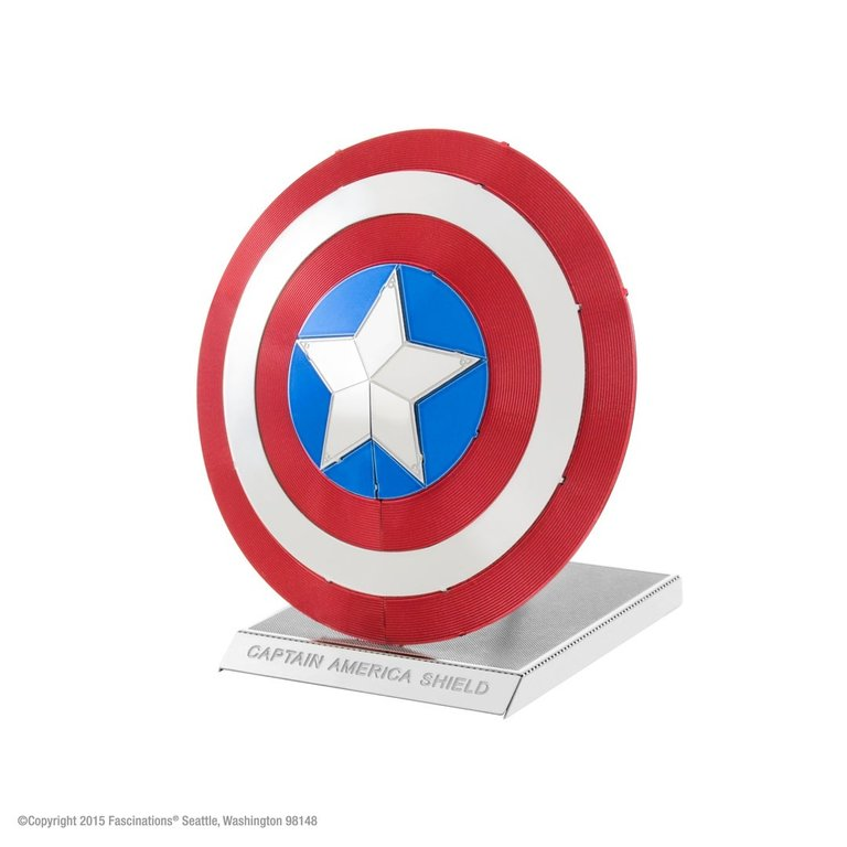 Metal Earth 3321 Captain America´s Shield Marvel Avenger 3D-Metall-Bausatz