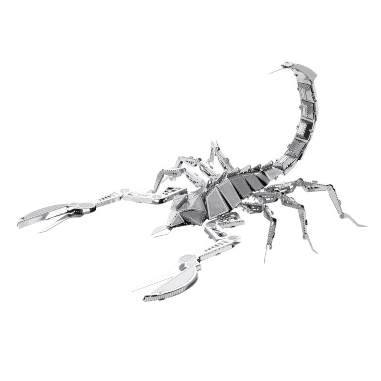 Metal Earth 1070 scorpion 3D-Metall-Construction Silver-Edition