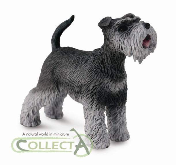Collecta 88752 schnauzer 5 cm Dogs and Cats