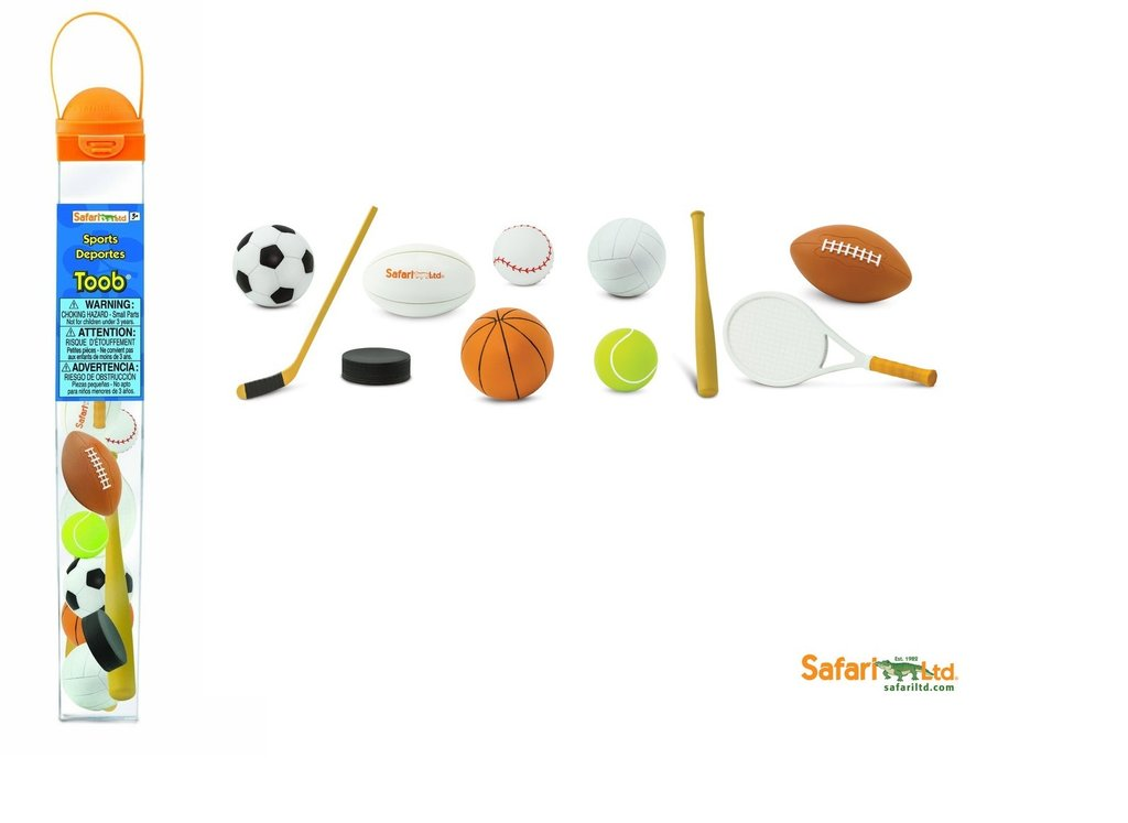 Safari Ltd 684404 Sport (11 Minifiguren)  Serie Themengebiet