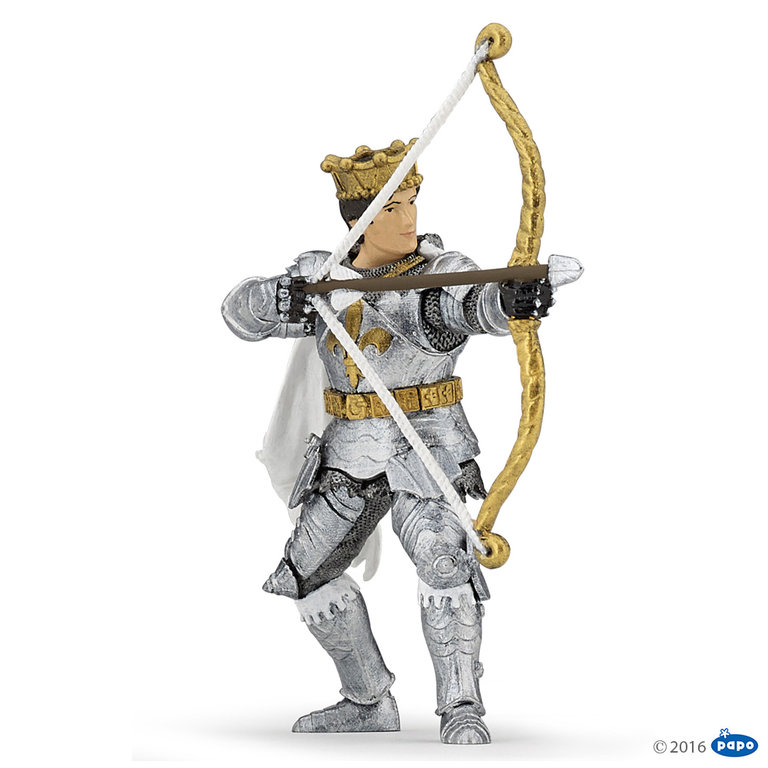 Papo 39796 Prince with bow 9 cm Knight and Castle