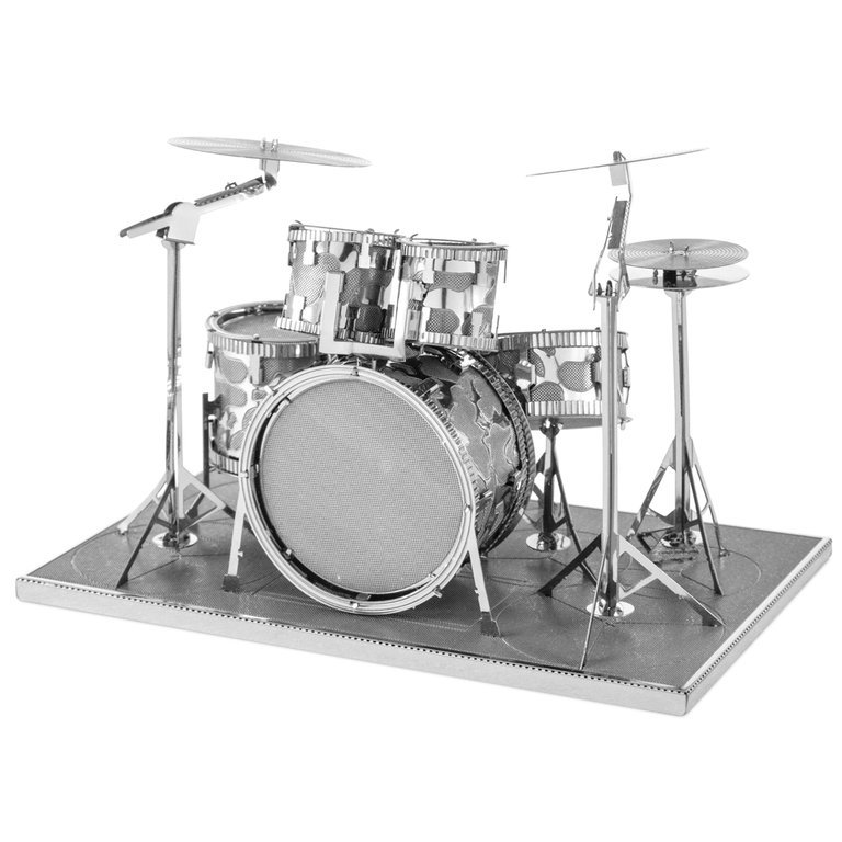 Metal Earth 1076 Drum Set 3D-Metall-Construction