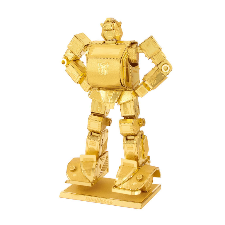 Metal Earth 1503 Transformers Bumblebee gold 3D-Metall-Construction Gold-Edition