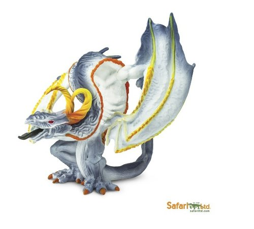 Safari Ltd 10143 Smoke Dragon Dragon 16 cm Series Mythology