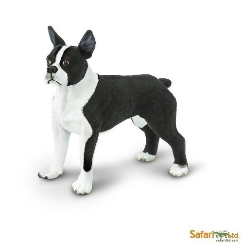 Safari Ltd 255029 Boston Terrier 5 cm Series Dogs and Cats