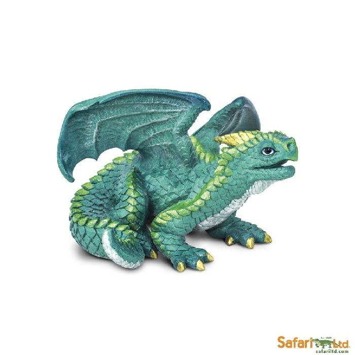 Safari Ltd 10151 Junger Drache 10 cm Serie Mythologie