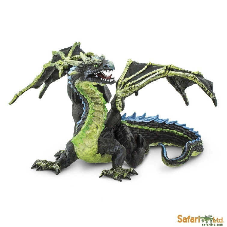 Safari Ltd 10154 Nebeldrache 19 cm Serie Mythologie