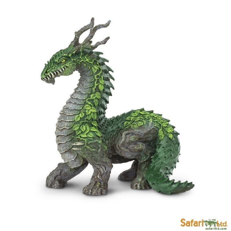Safari Ltd 10150 Jungle Dragon 12 cm Series Mythology