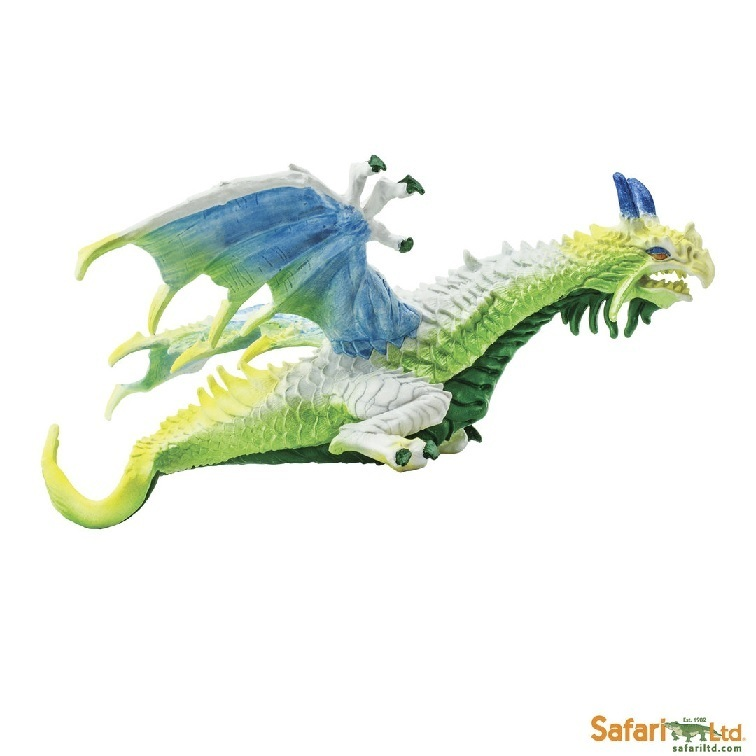 Safari Ltd 10158 Dunstdrache 20 cm Serie Mythologie