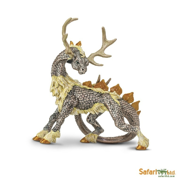 Safari Ltd 10157 Hirschdrache 12 cm Serie Mythologie